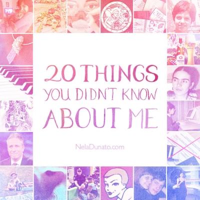 20 Things You Might Not Know About Me