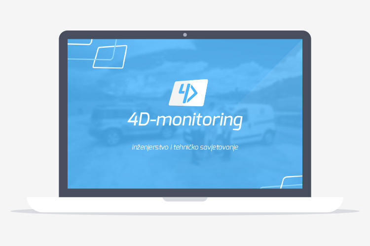 4D-monitoring presentation slides design