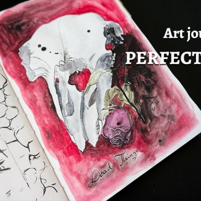 Using Art Journaling To Beat Perfectionism