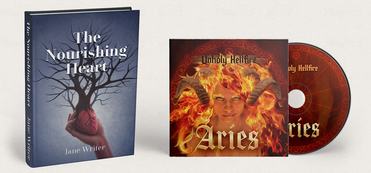 Artwork licensing for books & music album covers