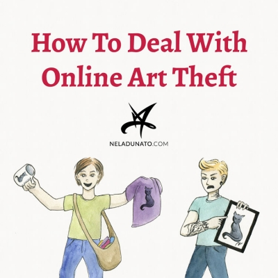 How To Deal With Online Art Theft