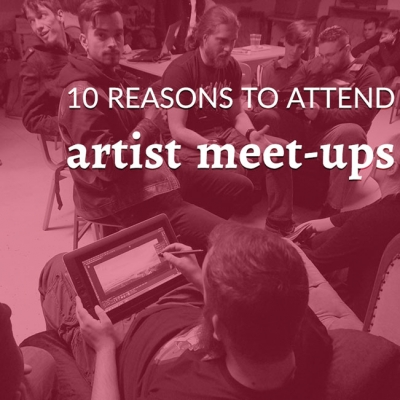 10 reasons to attend artist meetups