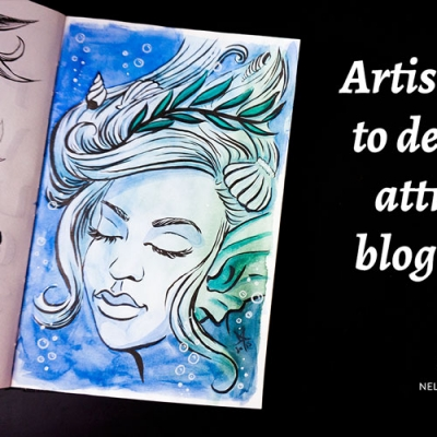 Artist's guide to designing attractive blog images