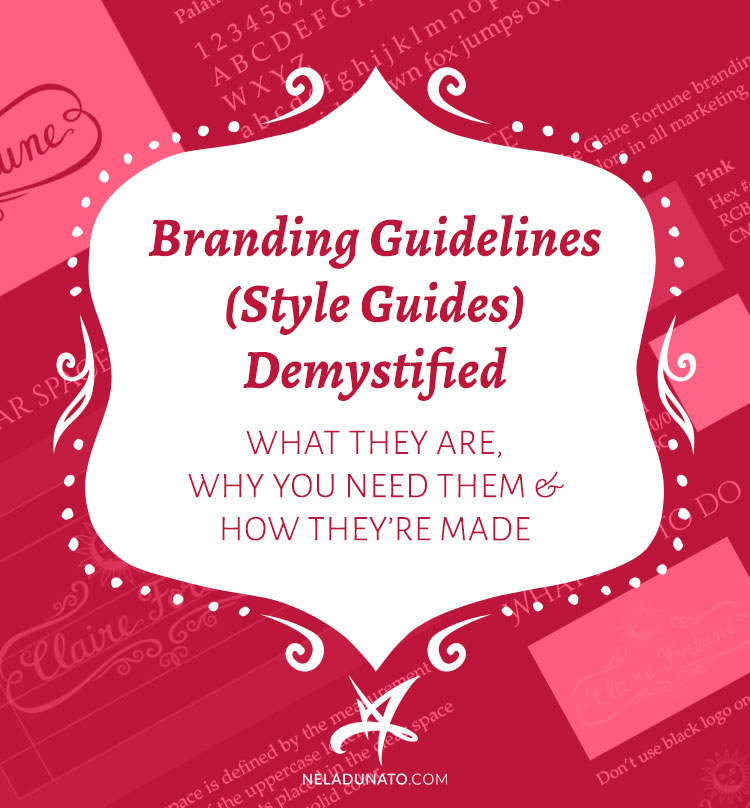 Branding guidelines (style guides) demystified: what they are, why you need them & how they're made