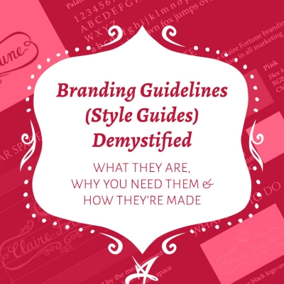 Branding guidelines (style guides) demystified