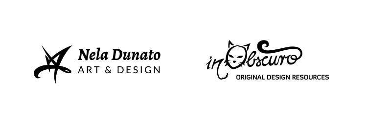 Logos with taglines - examples