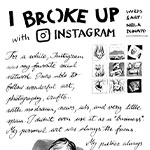 I broke up with Instagram (a graphic essay)