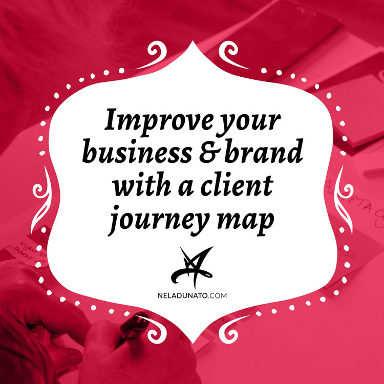 Improve your business & brand with a client journey map