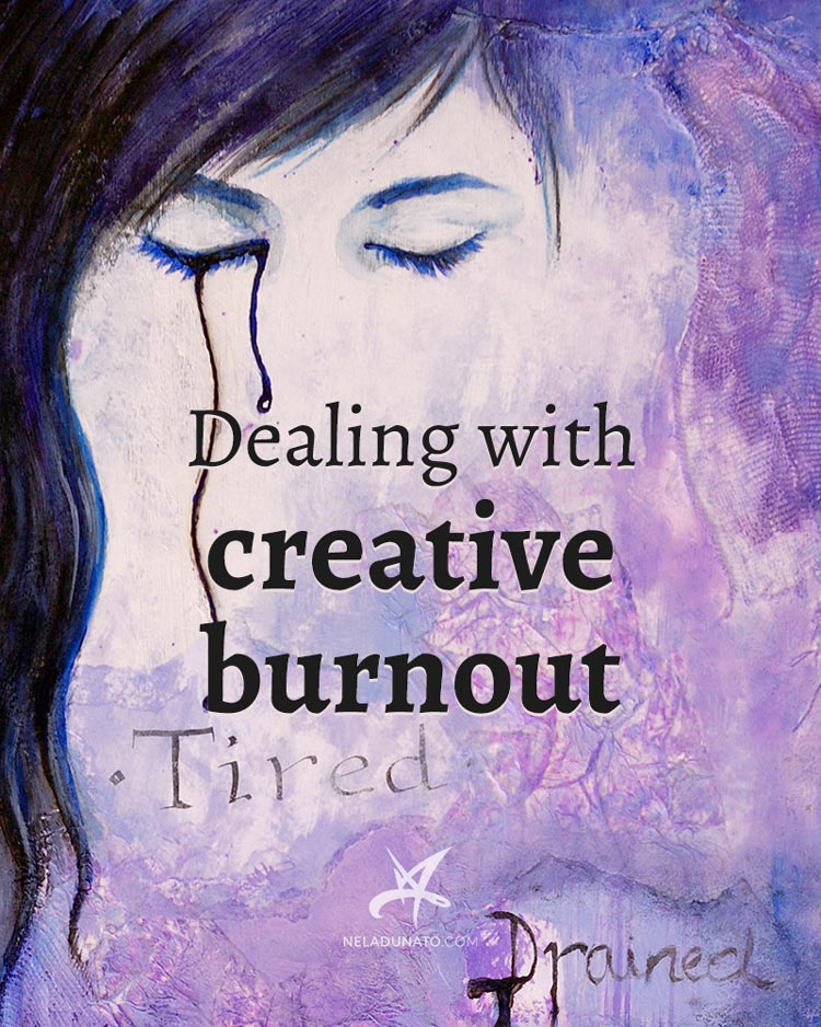 Dealing with creative burnout