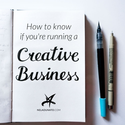 How to know if you're running a creative business