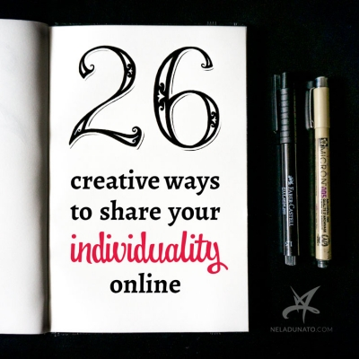 26 creative ways to share your individuality online