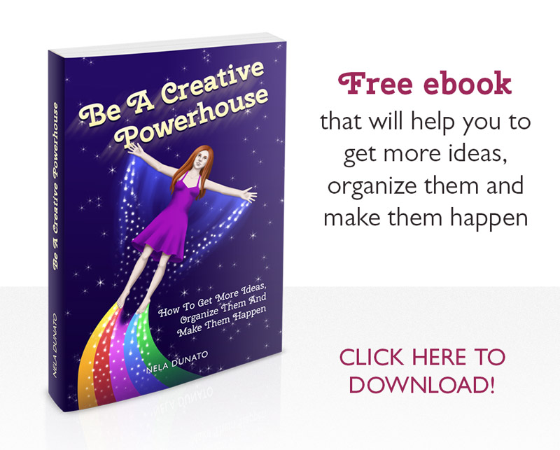Free eBook: Be A Creative Powerhouse