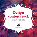 Design contests suck. Don't do them.