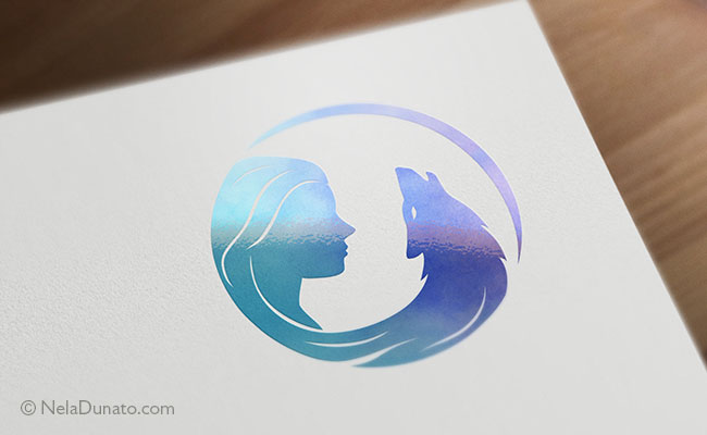 Logo design for Wild Moon Spirit