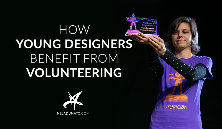 How young designers benefit from volunteering