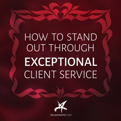 How to stand out through exceptional client service