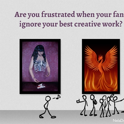 Are you frustrated when your fans ignore your best work?