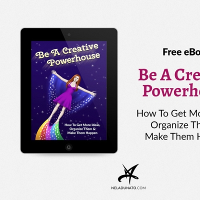 """Be A Creative Powerhouse"" Free EPUB eBook now available"