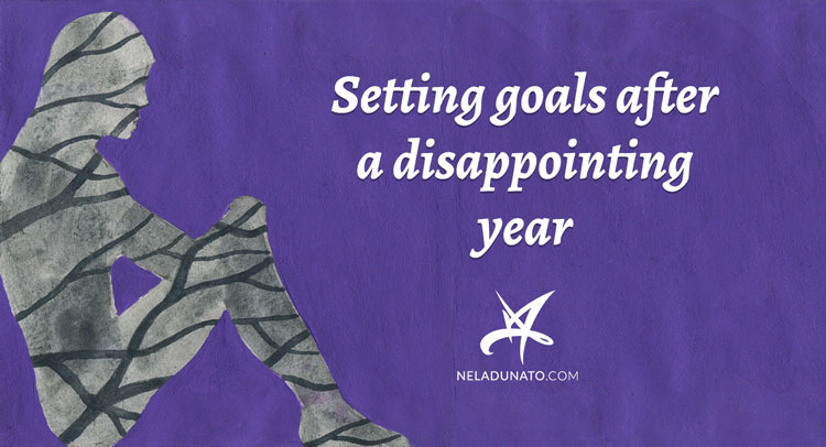 Setting goals after a disappointing year