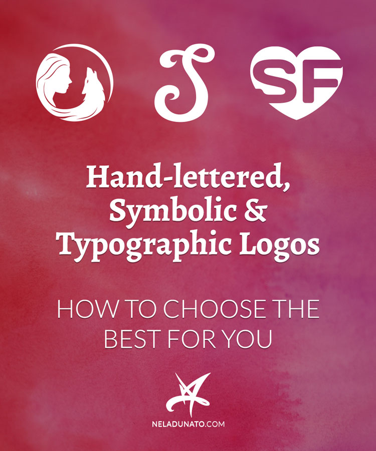 Hand-lettered, symbolic & typographic logos – How to choose the best for you