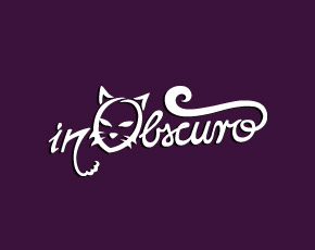 inObscuro hand lettered logo