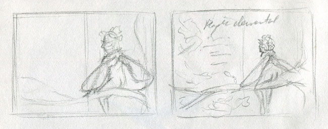 Maple Elemental thumbnail sketches