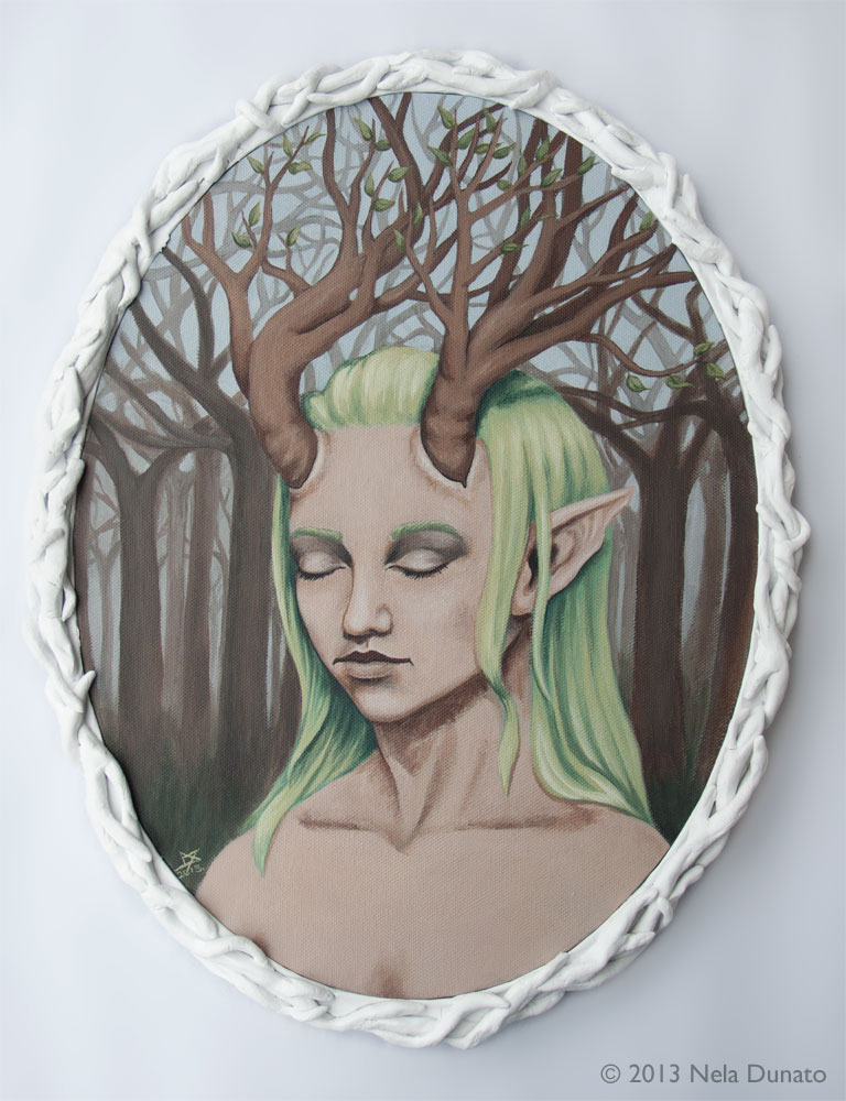 Daughter of the Forest by Nela Dunato