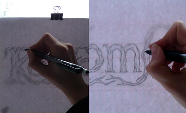 Tracing the sketch