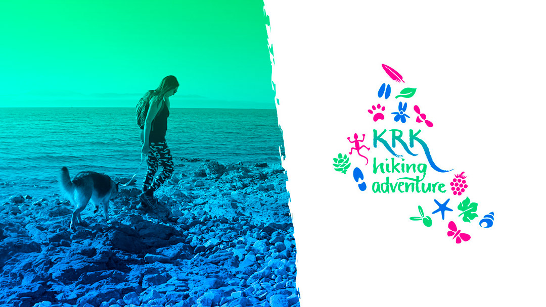 Krk Hiking Adventure social media graphics - Facebook cover