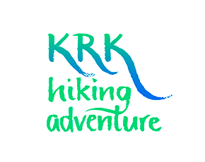 Krk Hiking Adventure logo & brand identity design
