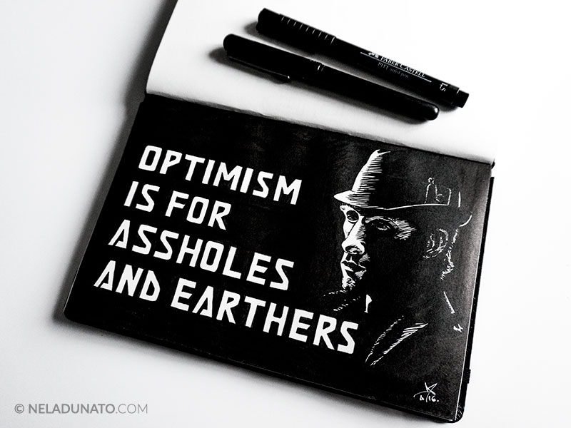 Optimism is for assholes and Earthers quote #TheExpanse
