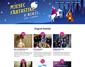 Mjesec fantastike website