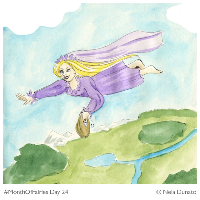 Month of Fairies Day 24 - Kosjenka