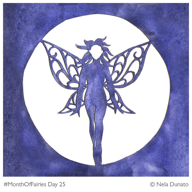 Month of Fairies Day 25 - Moon Fairy