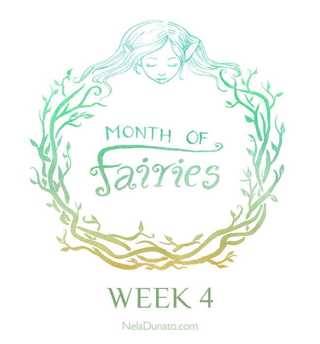 Month Of Fairies art challenge - Week 4
