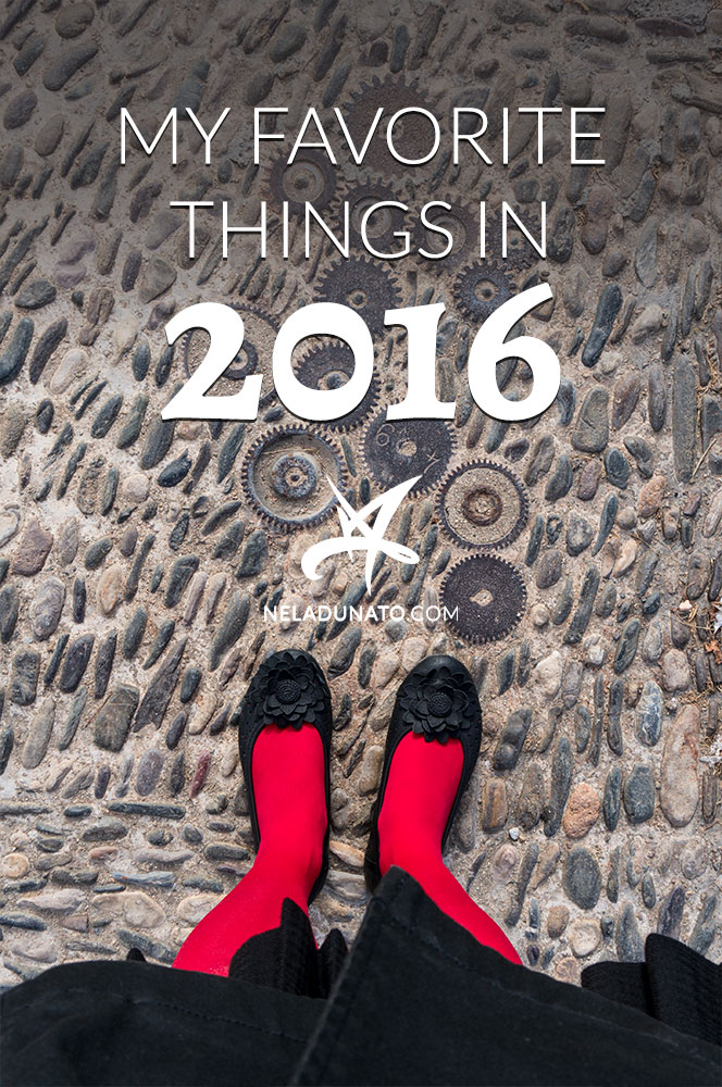 My favorite things in 2016: books, TV shows, art supplies, music, articles and more