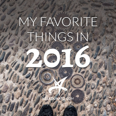 My favorite things in 2016