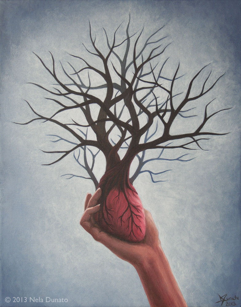 Nourishing Heart by Nela Dunato