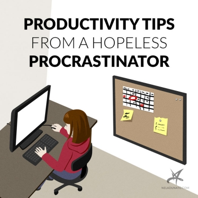 Productivity Tips from a Hopeless Procrastinator