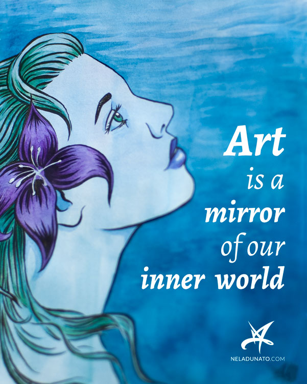 Art is a mirror of our inner world