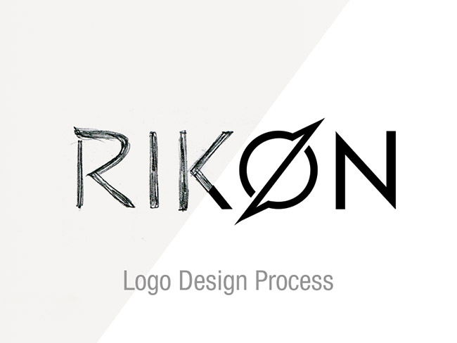 Rikon Logo Design Process