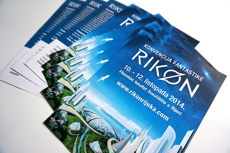 Rikon 2014 flyers graphic design