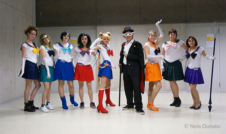 Sailor Moon cosplay at Rikon 2015