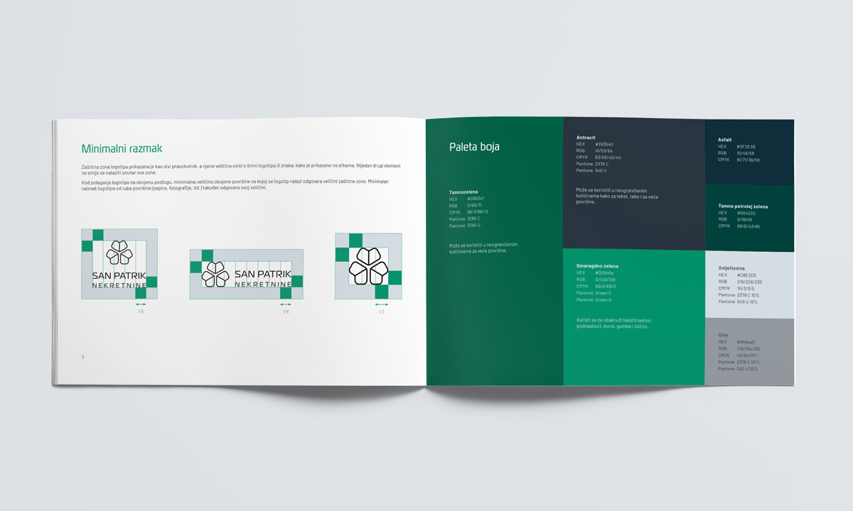 Real Estate Agency Brand Identity Design - Style Guide