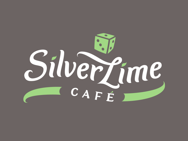 Silver Lime Cafe logo design