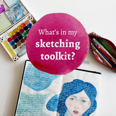 What's in my sketching toolkit?