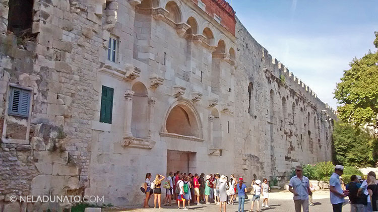 Split Diocletian palace North entrance