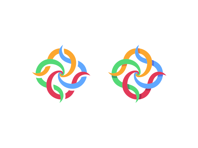 Student Justice Union logo design - icon variations