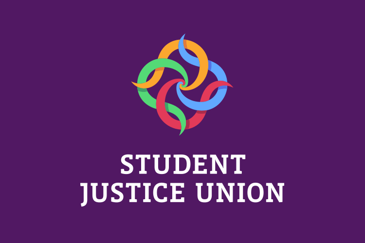 Logo & brand identity design for Student Justice Union