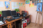 Welcome to my studio! This is where the magic happens